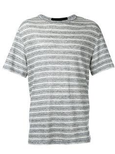 полосатая футболка  T By Alexander Wang