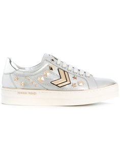 embellished lace-up sneakers Gianni Renzi