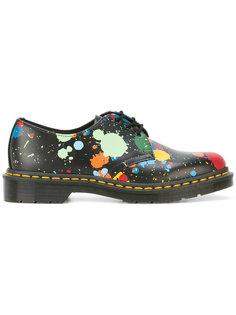 floral print shoes  Dr. Martens