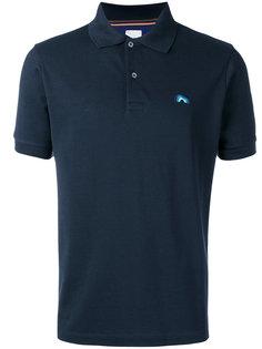 футболка-поло с вышитой радугой  Paul Smith
