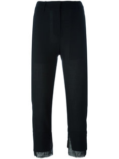 укороченные брюки кроя слим Ann Demeulemeester