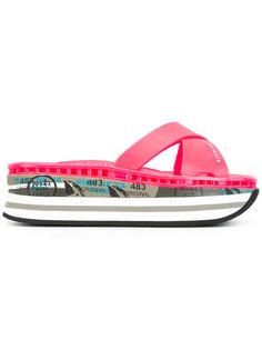 Moura platform sandals Premiata White