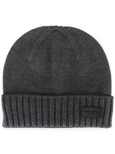 вязаная шапка Saint Laurent