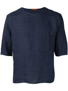 футболка с укороченными рукавами и карманом Barena