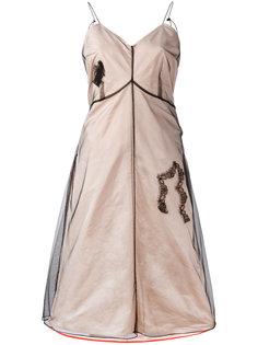 многослойное расклешенное платье  Quetsche