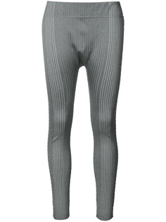 ribbed sports leggings Pleats Please By Issey Miyake