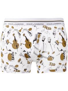 instruments print boxers Dolce & Gabbana Underwear