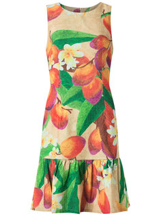 mango and floral sleeveless dress Isolda