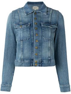 джинсовая куртка на кнопках Current/Elliott