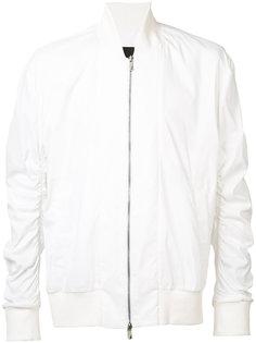 куртка-бомбер с присборенными рукавами D.Gnak