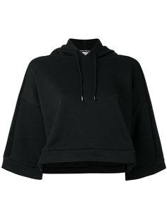 wide sleeve cropped hoodie  Puma