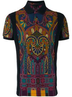рубашка-поло с принтом Etro