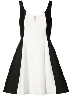 contrast dress  Halston Heritage