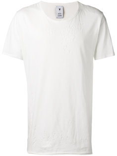 рваная футболка Maison Mihara Yasuhiro