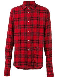 button-up plaid shirt Faith Connexion