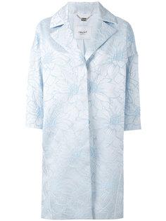 пальто с цветочным принтом Blugirl
