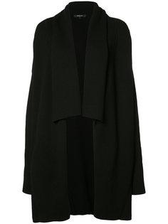 пальто с лацканами-шалькой Derek Lam