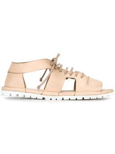 open-toe cut-out sandals Marsèll