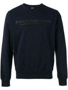 толстовка с принтом-логотипом Paul & Shark