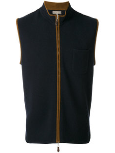 zip up gilet  N.Peal
