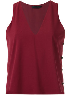 sleeveless blouse Giuliana Romanno