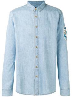 рубашка с блестящей отделкой Balmain