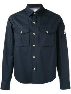 рубашка с карманами карго Moncler Gamme Bleu