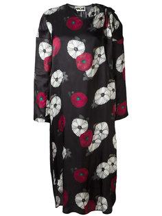 платье миди с цветочным принтом Hache