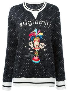 джемпер с нашивкой  Dolce & Gabbana