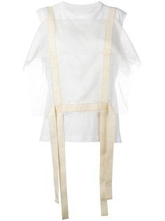 блузка с ремешками Maison Margiela