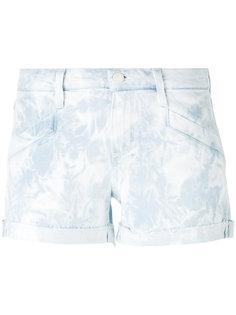 джинсовые шорты тай-дай Paige