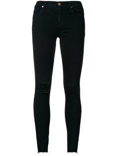 джинсы скинни с потертостями J Brand