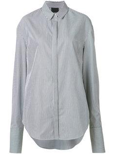 рубашка в полоску Josh Goot
