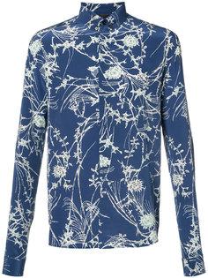 printed button-down shirt  Haider Ackermann