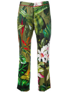 tropical floral print pyjama trousers F.R.S For Restless Sleepers