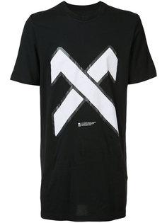 футболка с принтом X 11 By Boris Bidjan Saberi