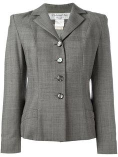 glen check jacket Christian Dior Vintage