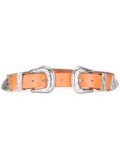 Bri Bri double buckle belt  B-Low The Belt