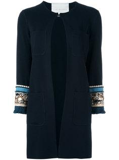 embellished sleeve jacket Giada Benincasa