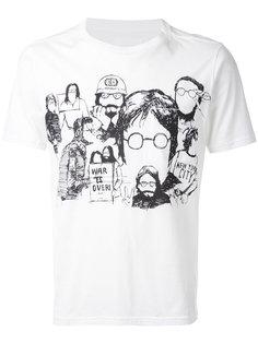 sketch print T-shirt The Soloist
