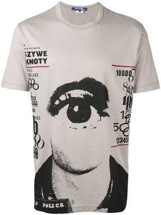 футболка с принтом глаза Junya Watanabe Comme Des Garçons Man
