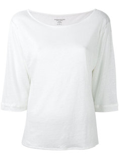 cropped sleeve T-shirt Majestic Filatures