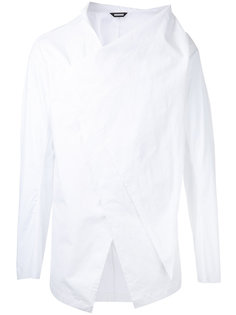 front draped shirt Moohong