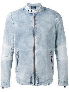 джинсовая куртка на молнии Diesel