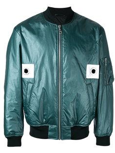 куртка-бомбер с отделкой люверсами Kenzo