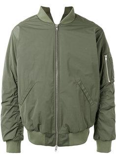 куртка-бомбер  с карманом на молнии Martine Rose