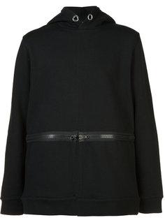 slit-detail hooded sweatshirt Givenchy