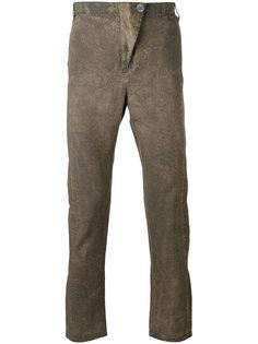 брюки кроя супер-скинни 10Sei0otto