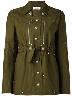 куртка в стиле милитари Courrèges