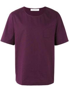 футболка с перевернутым карманом Lucio Vanotti